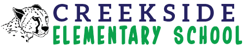 Creekside Elementary School logo centered